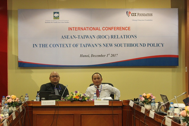 Prof.Dr. Alan H. Yang, National Chengchi University, Taiwan and Assoc. Nguyen Huy Hoang presided over session 3