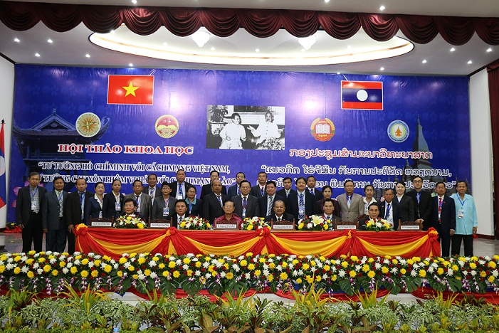 Representatives of leaders of Vietnam-Laos