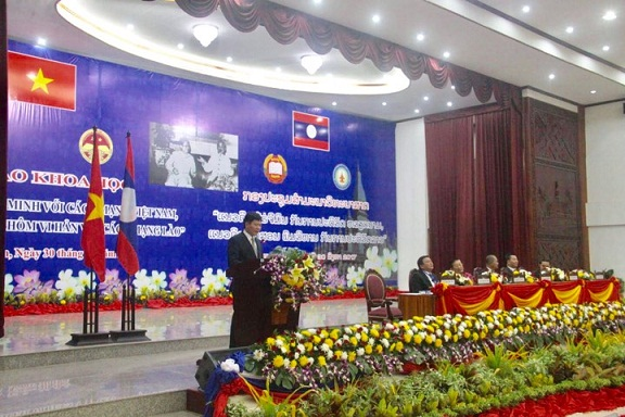 Prof. Dr Nguyen Quang Thuan - President of  Viet Nam Academy of Social Sciences