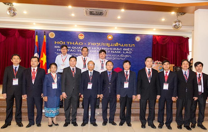 The Leaders of the delegation and leaders of Binh Thuan Province took a photo at the Workshop.